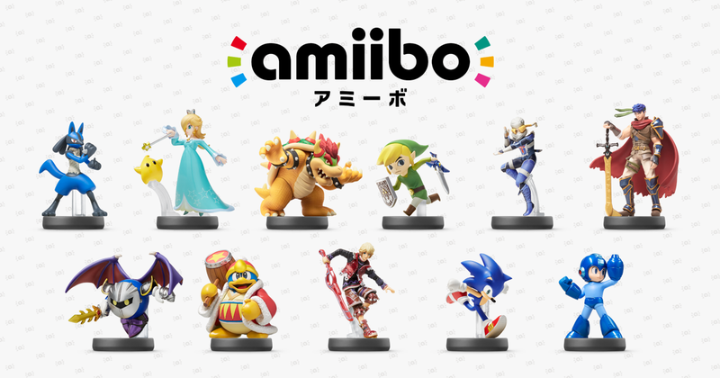 Illustration for article titled Nintendo Is Showing Off the Next Wave of Amiibo