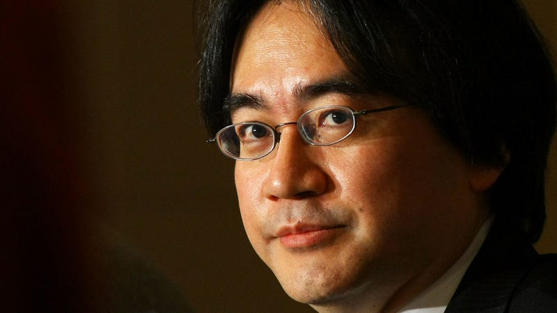 Satoru Iwata in 2009, at a professional high point during the heyday of the Wii and Nintendo DS. Photo by Junko Kimura/Getty Images