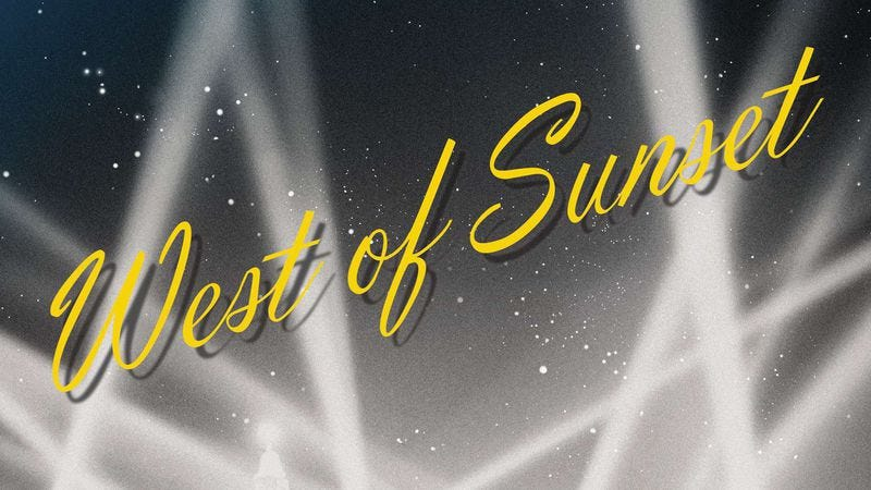 Illustration for article titled West Of Sunset is a terrific look at F. Scott Fitzgerald's Hollywood years