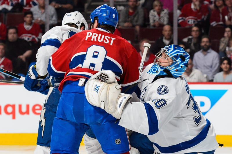 Illustration for article titled Brandon Prust Had A Bit Of A Meltdown