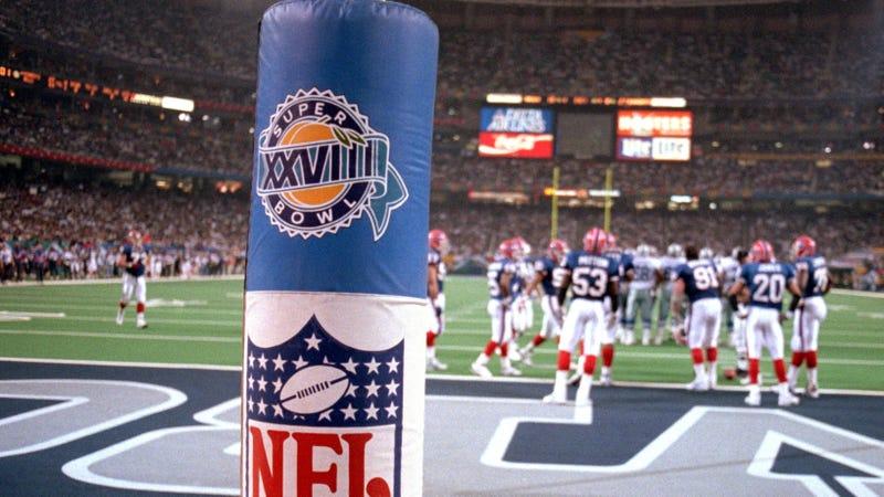 Illustration for article titled Super Bowl Logos, Ranked