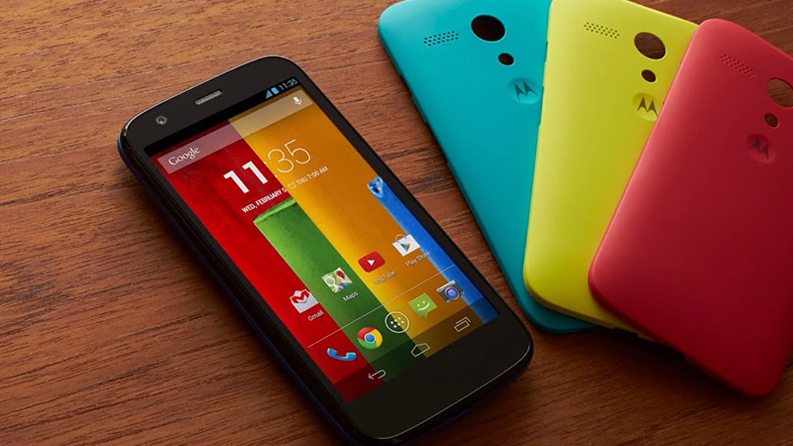 Moto G: así es el nuevo smartphone low cost de Motorola