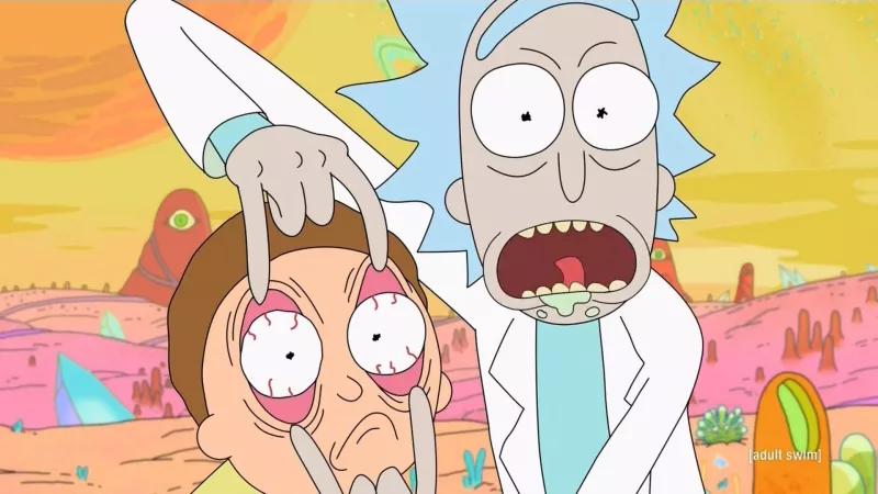 Illustration for article titled Así se verían Rick y Morty si la serie fuese un anime japonés