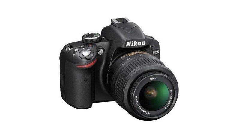 Illustration for article titled Bag a Nikon D3200 24.2 MP Digital SLR w/18-55mm Lens for Only $400