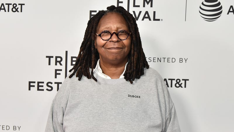 "Whoopi Goldberg attends ""Waldo On Weed"" - 2019 Tribeca Film Festival at SVA Theater on May 03, 2019 in New York City."