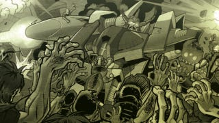Illustration for article titled Transformers Vs. Zombies, DCU Online's First Issue And More