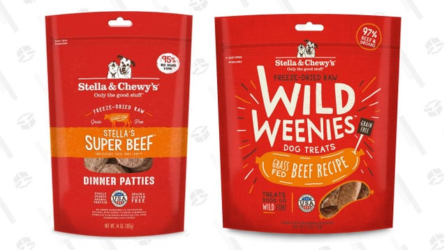 Give Your Pup a Real Treat and Save 25% on Stella & Chewy s Freeze-Dried Goodies
