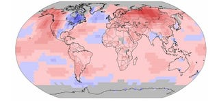 Illustration for article titled Es oficial: la primera mitad de 2015 fue la más calurosa desde 1880