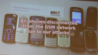 """Illustration for article titled The Simplest—And Most Common—Cellphones Are Vulnerable To The """"SMS Of Death"""""""