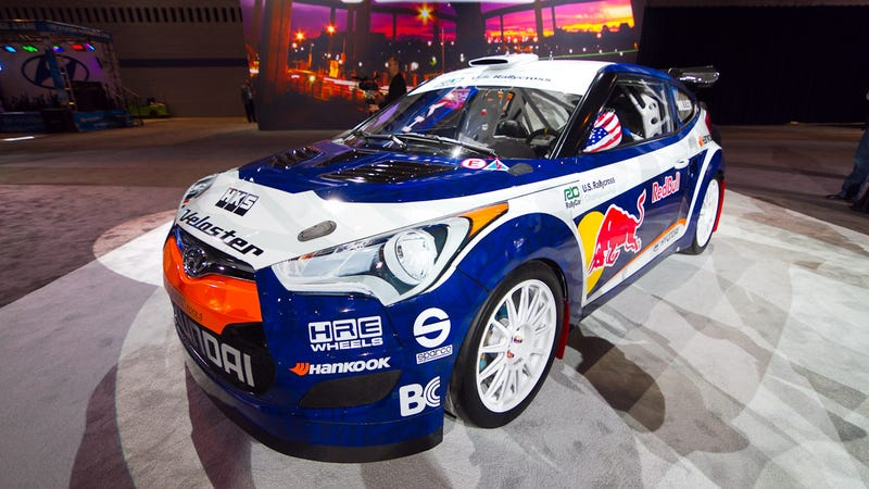 Hyundai Veloster Rally Car: Up close with the killer orange-eater