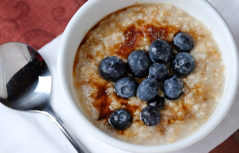 Add an Egg to Your Oatmeal for a Smoother, Creamier, Higher Protein Breakfast