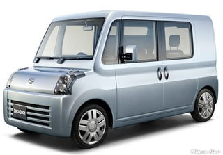 Illustration for article titled Daihatsu Improves Mini Moke, Nissan Cube For Tokyo Show