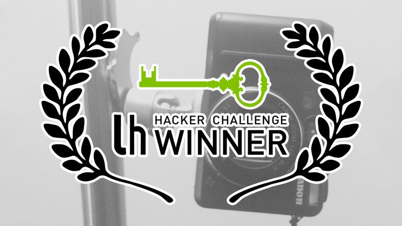 Illustration for article titled Challenge Winner: Mount Your Camera Almost Anywhere With a Magnet