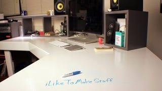The DIY Dry Erase Workspace
