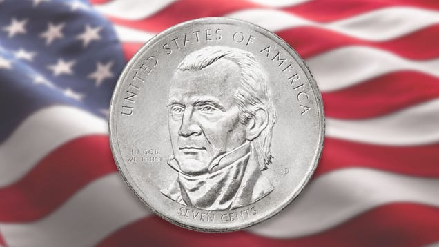 U.S. Mint Introduces New Seven-Cent Coin To Bolster Citizens' Math Skills
