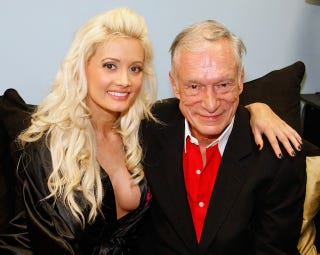"""Illustration for article titled Holly Madison """"Very Surprised"""" By Hugh Hefner's Engagement"""