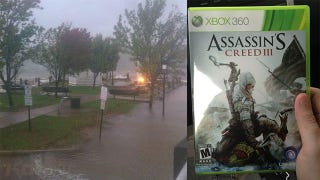 Illustration for article titled Store Sells Assassin's Creed III Early to Beat Hurricane