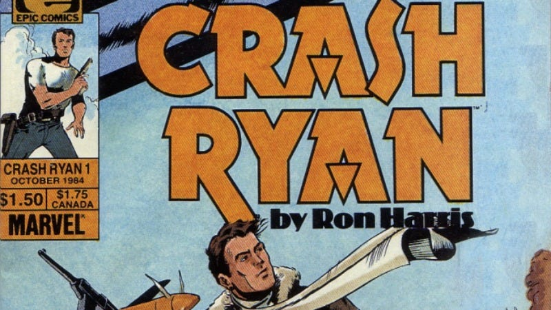 Illustration for article titled The quest to make every comic book into a movie extends to Crash Ryan series