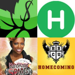 Clockwise from top left: Mint; Hopstop; HBCU Homecoming;Kandi Koated Spades