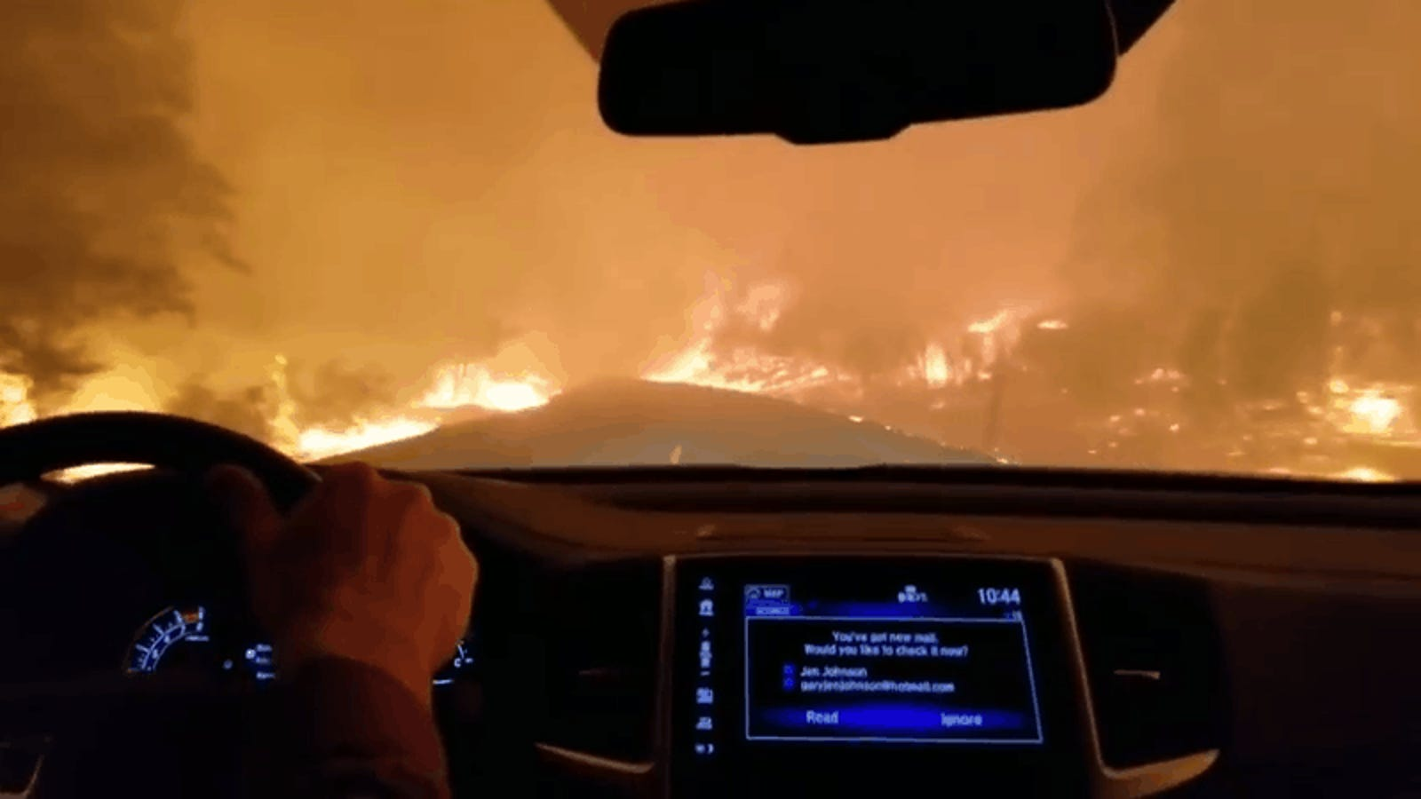Video Shows the Terrifying Drive to Escape Massive Fire in Paradise, California