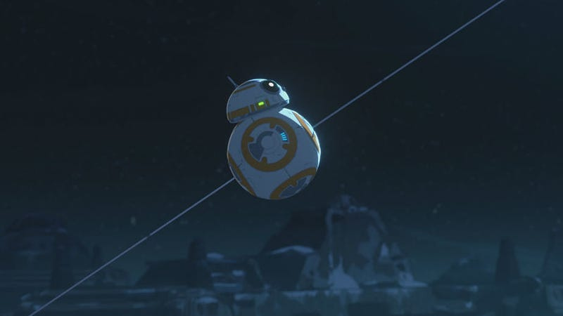 BB-8 is the connection that bridges Resistance with The Force Awakens.
