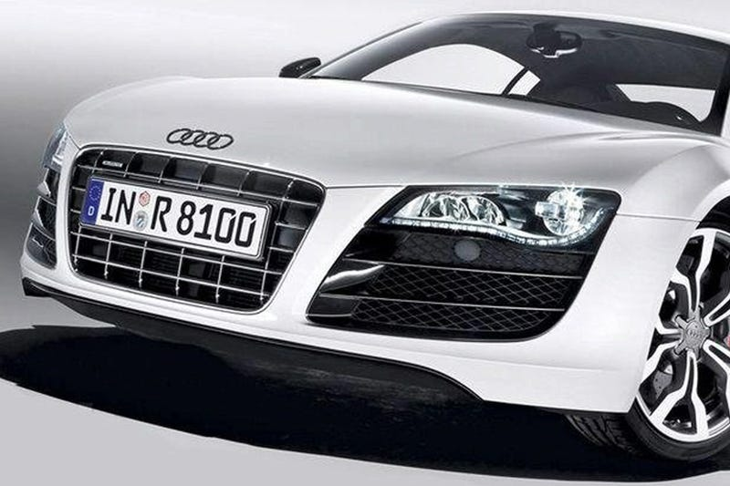 Illustration for article titled Audi R8 V10: Two More Cylinders For Detroit