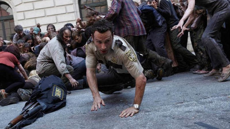 Illustration for article titled The Walking Dead to become a video game series