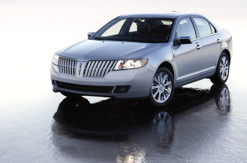 Illustration for article titled 2010 Lincoln MKZ: Fusion Plus A Newish Nose