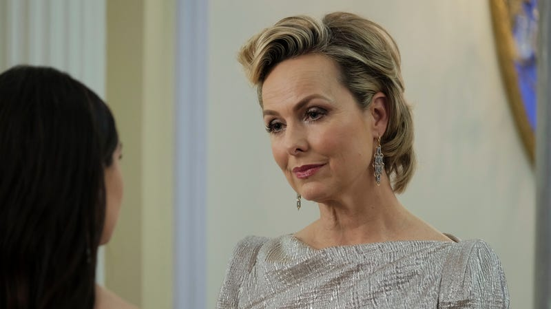 Melora Hardin, being excellent at her job