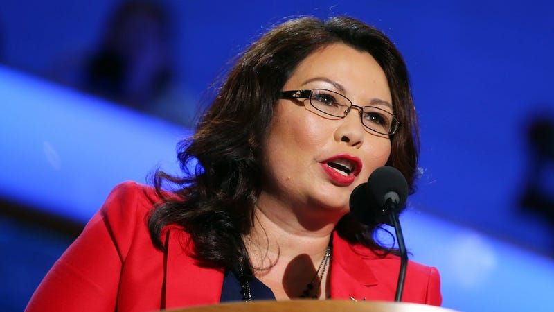Illustration for article titled Tammy Duckworth Considers Challenging Mark Kirk For Senate Seat
