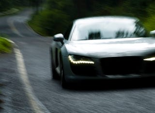 Illustration for article titled Driving the 2008 Audi R8, Part One