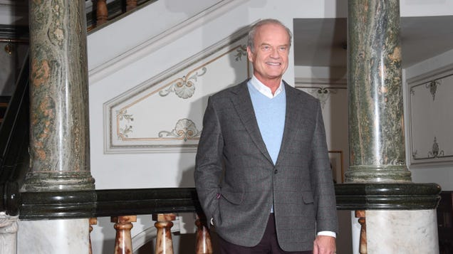 Kelsey Grammer joins roster of replacement Liptons on new Inside The Actors Studio