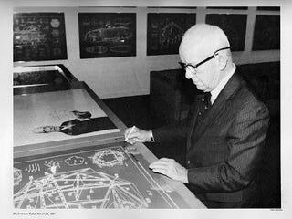 Illustration for article titled Buckminster Fuller Screenprints (1981)