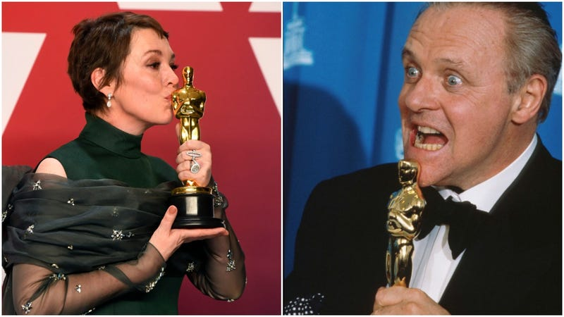 Illustration for article titled Olivia Colman and Anthony Hopkins to have Oscars together in Florian Zeller's The Father