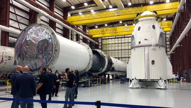 SpaceX s Crew Dragon Is Greenlit for March 2 Unmanned Mission to the ISS