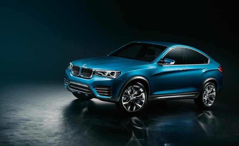 Illustration for article titled BMW X4M