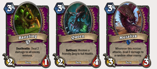 Illustration for article titled What Starcraft Cards Would Look Like In Hearthstone
