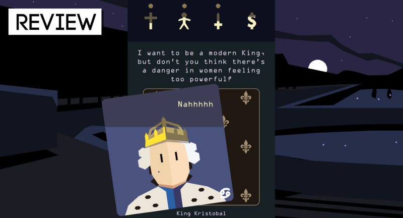 Illustration for article titled Reigns: Her Majesty: The Kotaku Review