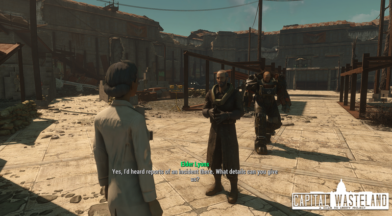 The Capital Wasteland Project, a mod remaking Fallout 3 inside Fallout 4, has been un-canceled. The