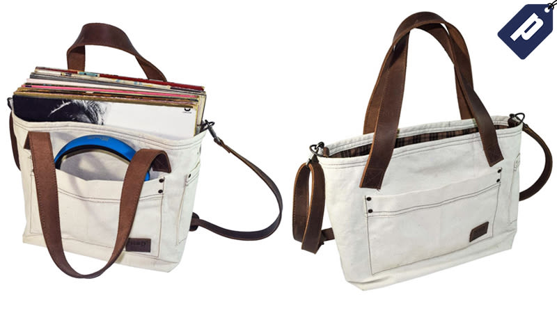 Illustration for article titled Carry Everything You Need While On-The-Go In This Handmade, Canvas Tote Bag (50% Off)