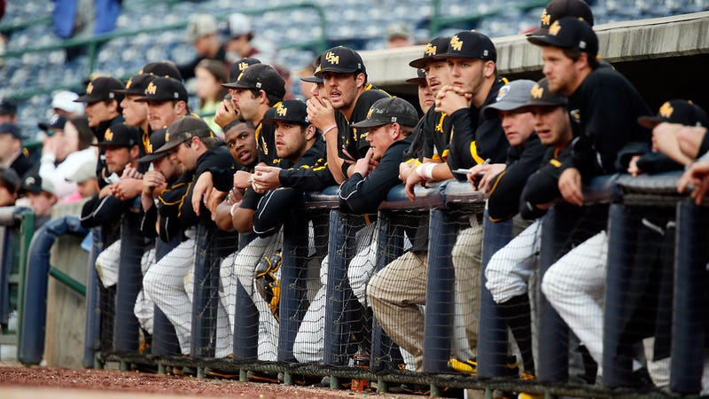 The Southern Miss baseball team in 2014. (Photo: Rogelio V. Solis/AP)
