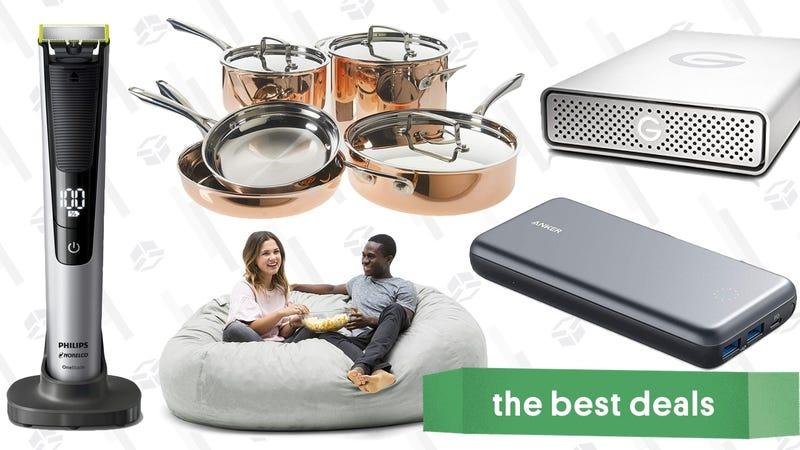 Wednesday's Best Deals:SanDisk Storage Sale, Cuisinart Cookware, Eddie Bauer, and More