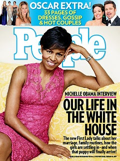 Illustration for article titled People: At Home With Michelle Obama