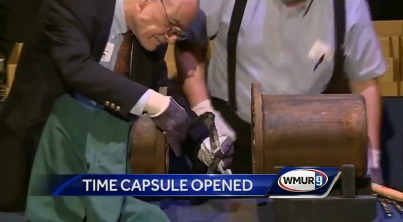 Time Capsule Teaches Valuable Lesson In Never Getting Your