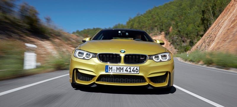 A BMW M4 that is fast. Too fast? I don't know but I know which way I'm leaning! Photo Credit: BMW