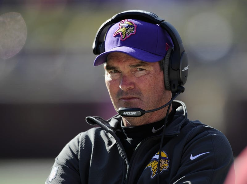 Illustration for article titled Mike Zimmer Sounds Fed Up With The Vikings
