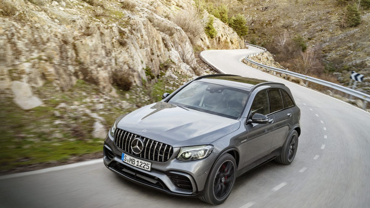The GLC63 Might Actually Be The Best Mercedes AMG Now