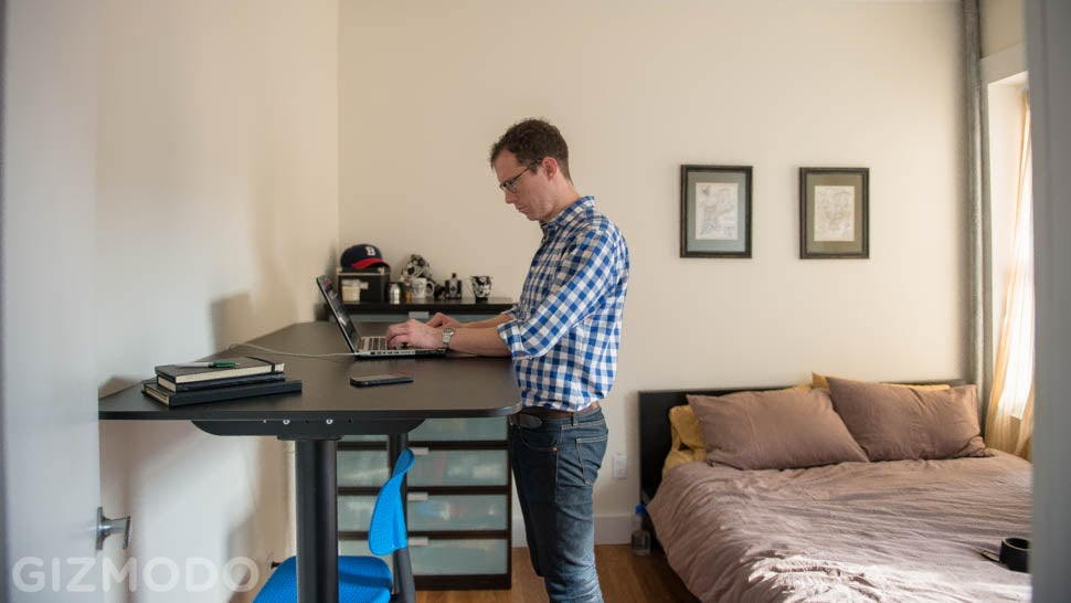 IKEA SitStand Desk Review I Cant Believe How Much I Like This
