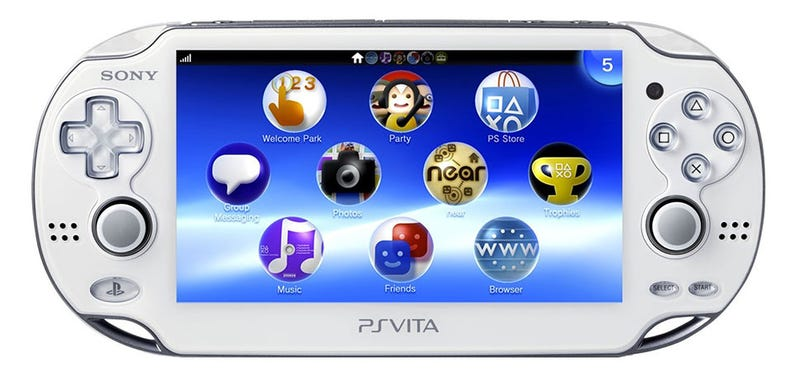 Illustration for article titled White PS Vitas Available In US