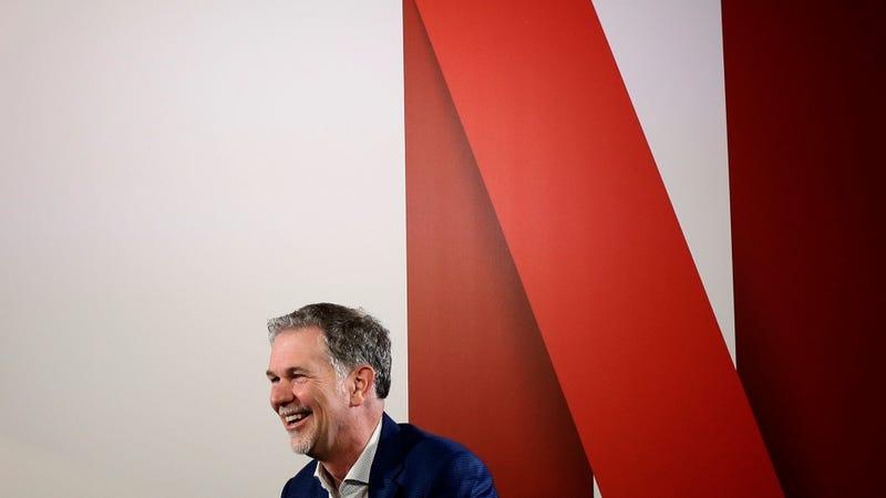 El CEO de Netflix, Reed Hastings, en una entrevista en Barcelona durante el MWC 2017. Imagen: AP Photo/Manu Fernandez
